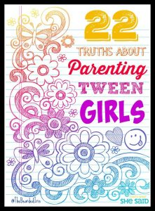 Tween Girl pin